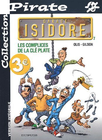 BD Pirate n°7 garage Isidore