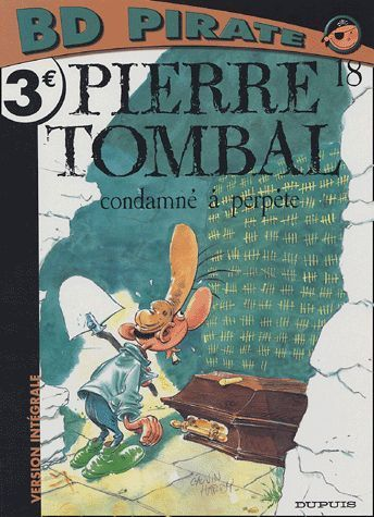 BD pirate pierre tombal n°18
