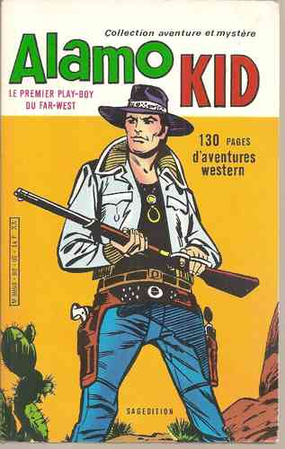 BD Alamo kid le premier play boy du Far West