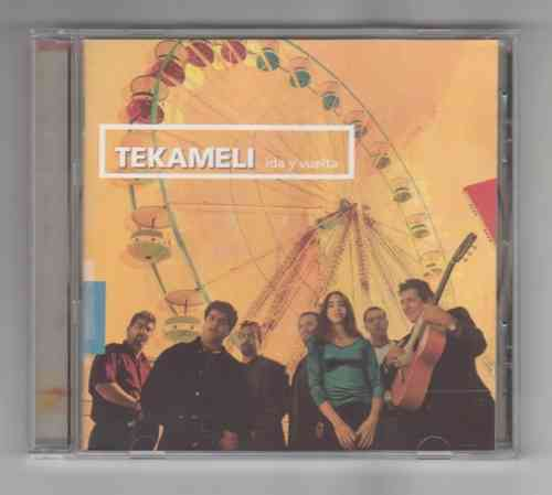 CD tekameli ida y vuelta rumba flamenco