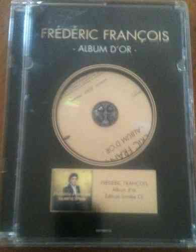CD frederic françois album d'or edition limite-1996