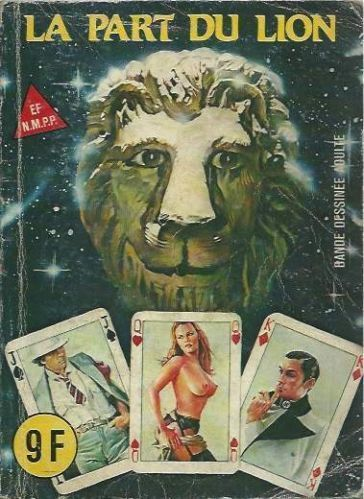 BD la part du lion Serie rouge Elvifrance 1984