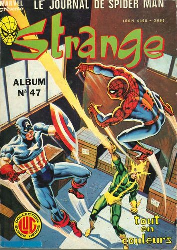 BD Album Strange N°47 Marvel Comics 1981