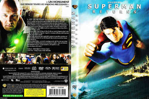 DVD superman returns Bryan Singer 2007