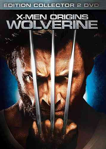 DVD X-MEN origins wolverine édition collector