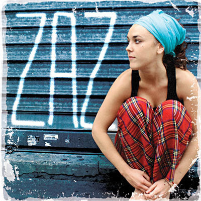 CD zaz + dvd a travers zaz