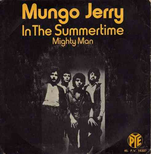 VINYL45T mungo jerry in the summertime 1970