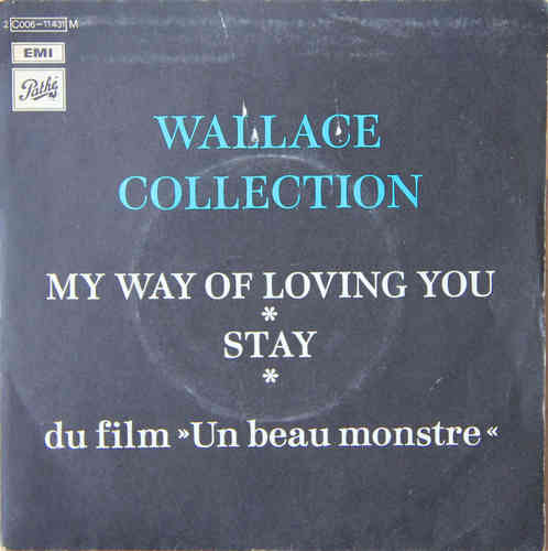 VINYL45T wallace collection stay 1972