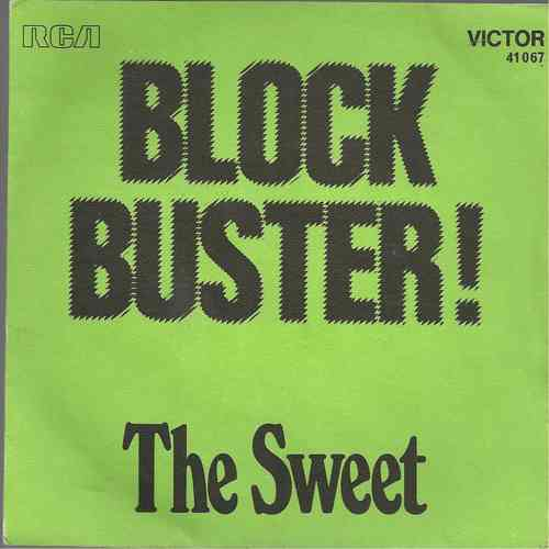 VINYL45T the sweet block buster  1973