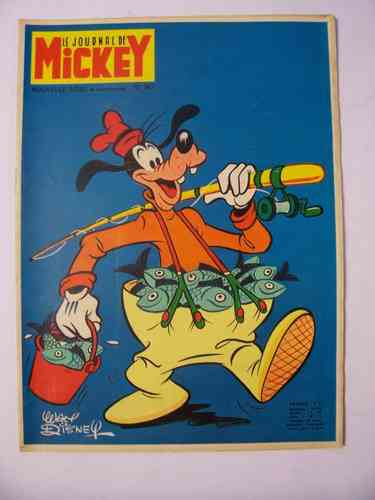 BD le journal de Mickey 1970 N°947