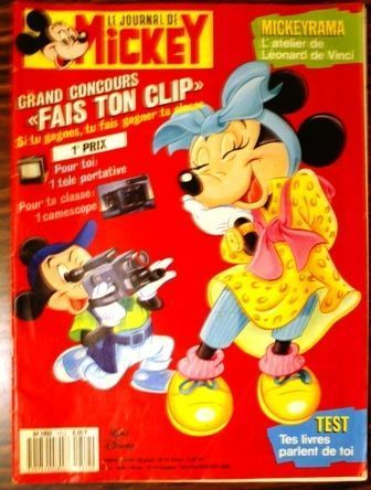BD le journal de Mickey n°1812 1987