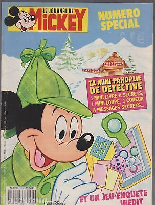 BD le journal de Mickey n°1806 1987