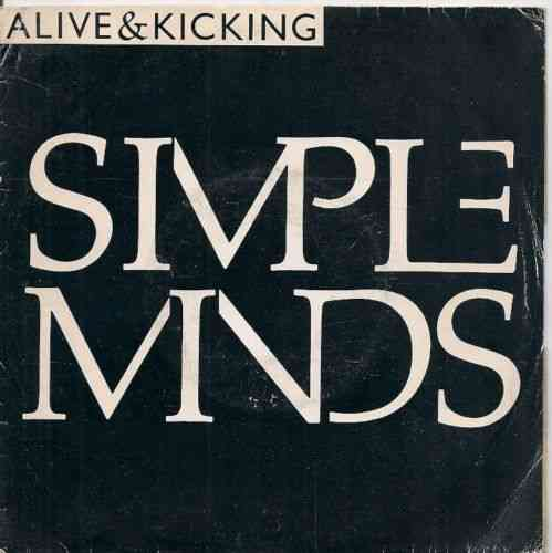 VINYL45T simple mind alive and kiking 1985