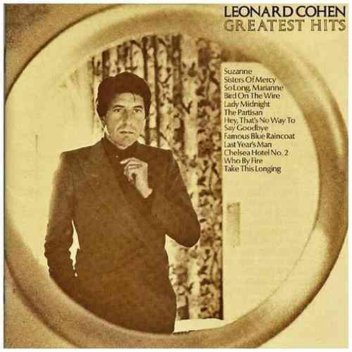 CD Léonard Cohen greatest hits 1975