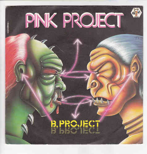 VINYL45T pink project b project 1985