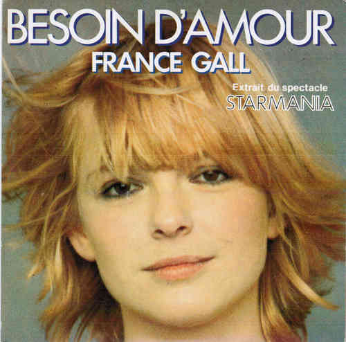 VINYL 45T france gall besoin d'amour 1979