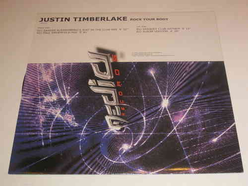 VINYL33 T Justin timberlake rock your body 2003