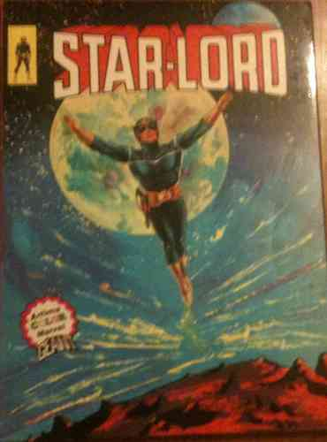 BD Star-Lord Artima album Marvel 1976