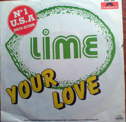 VINYL45T lime your love  1981