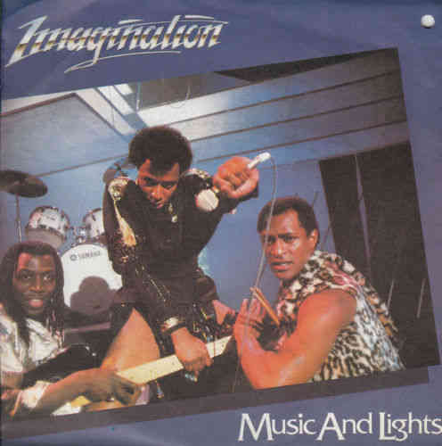 VINYL45T imagination music and lights 1982