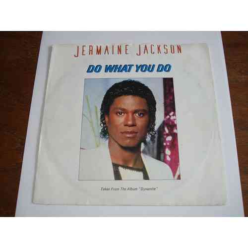 VINYL45T jermaine jackson do what you do 1984