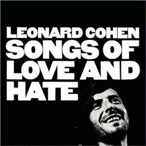 VINYL33T Leonard cohen sogs of love and hate 1971