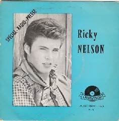 VINYL45T ricky nelson blood from a stone prn 1