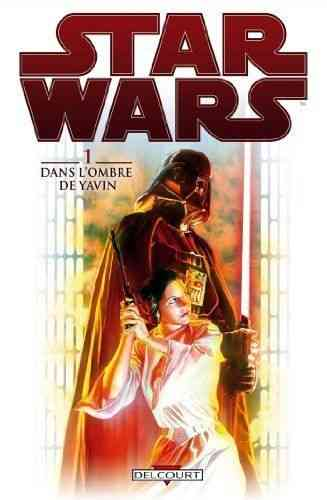 BD Star Wars 1 dans l'ombre de yavin sciences fictions fantastique 2013