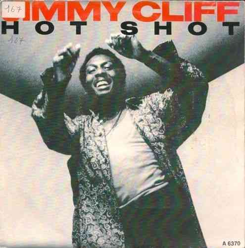 VINYL45T jimmy cliff hot shot 1985