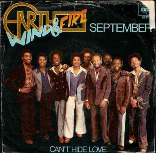 VINYL45T earth wind and fire september 1978