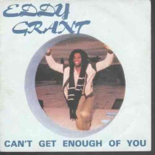 VINYL45T eddy grant can't get enough of you 1981