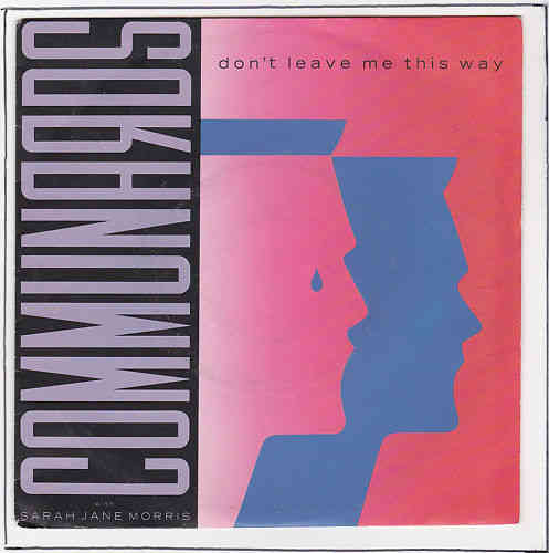 VINYL45T communards don't leave me this way 1989
