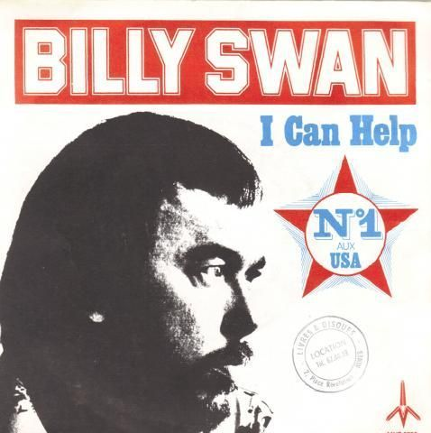 VINYL45T Billy swan i can help France 1975