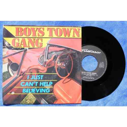 VINYL45T boys town gang i just can't help believing 1983