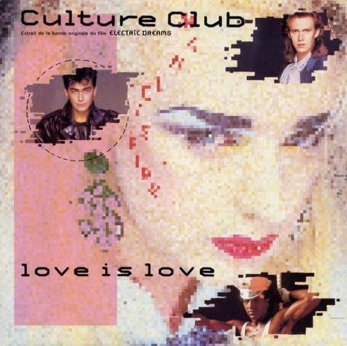 VINYL45T culture club love is love 1985