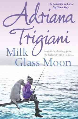 LIVRE Adriana Trigiani milk glass moon