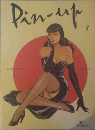 BD Yann Berthet pin-up tome 3 1998
