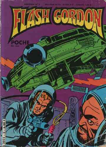 BD flash gordon poche n°8 bimestriel