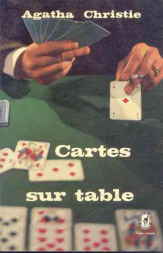 LIVRE Agatha christie cartes sur table LdP n°1999 1966