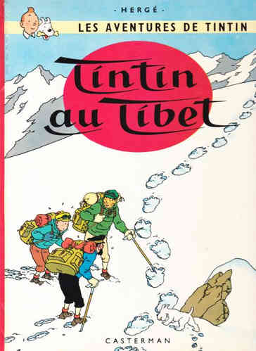 BD tintin au tibet 1966 collection