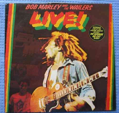 VINYL33T bob marley and the wailers live 1975