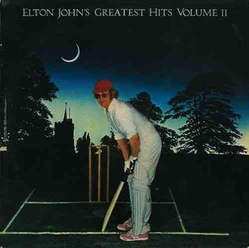 VINYL 33 T  elton john greatest hits II 1977