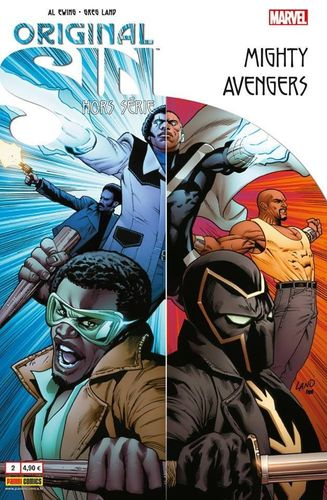 BD original sin N°2 mighty avengers(marvel) 2015