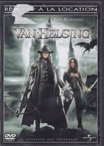 DVD Kate Beckinsale van helsing