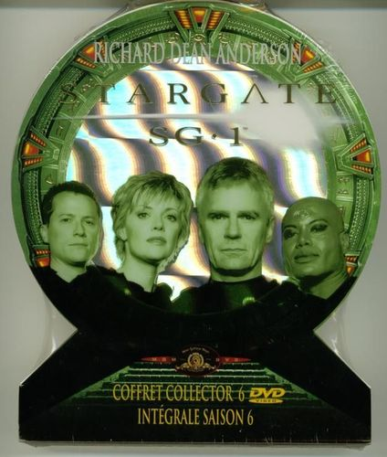 DVD Coffret collector stargate saison 6
