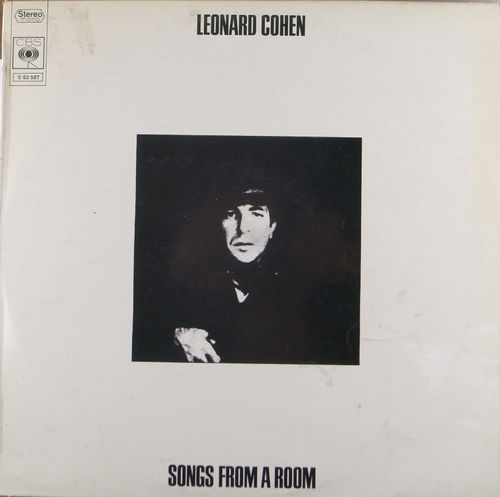 VINYL33T leonard cohen songs from a room 1969
