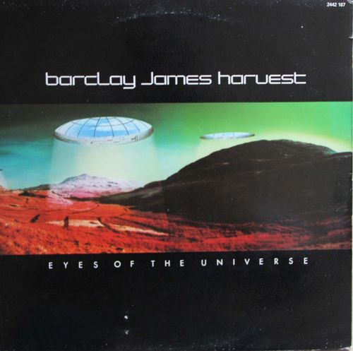 VINYL 33 T barclay james harvest eyes of the universe 1979