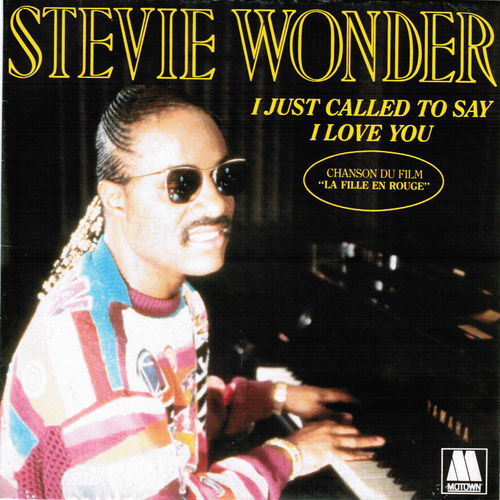 VINYL45T stevie wonder i just called to say i love you 1984