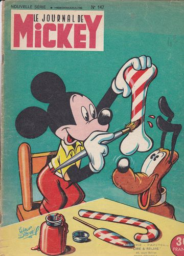 BD le journal de Mickey 1955 N°147