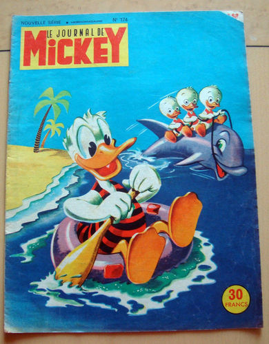 BD le journal de Mickey n 174-1955